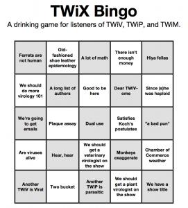 TWiX bingo