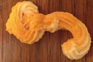 Ebola virus cookie