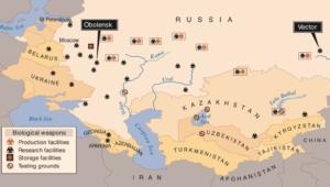 Soviet Bioweapons Facilities