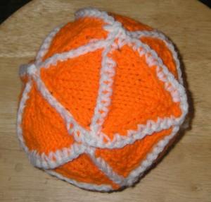 knit icosahedron