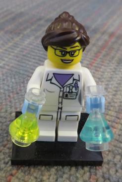 scientist LEGO