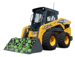 skid loader full of viromes