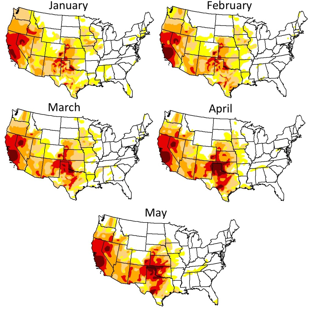 drought maps